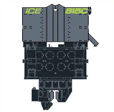 ICE 815C - Ciocan Vibrator