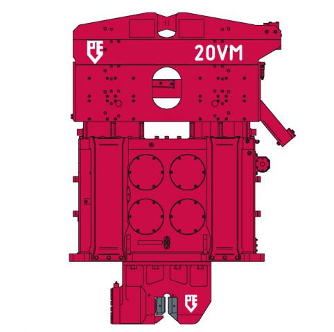 PVE 20VM - Ciocan Vibrator