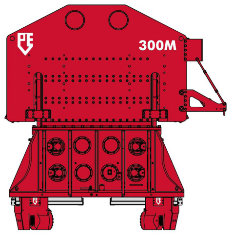 PVE 300M - Ciocan Vibrator